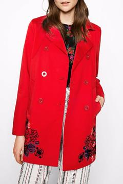 Shoptiques Product: Norma Red Coat