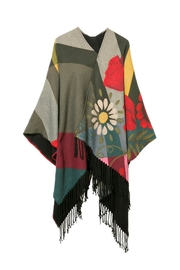DESIGUAL Poncho - Front cropped