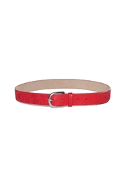 DESIGUAL Red Embroidered Belt - Product Mini Image