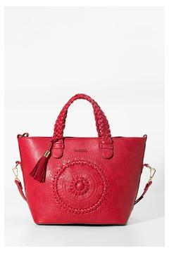 Shoptiques Product: Red Crossbody Bag