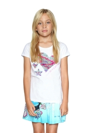 DESIGUAL Reversible Sequin Tee - Front cropped