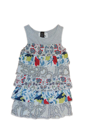 DESIGUAL Desigual Ruffled Top - Front cropped
