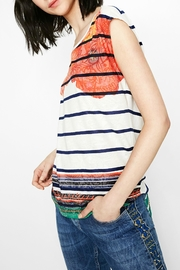 DESIGUAL Sailor Striped Floral Tee - Other
