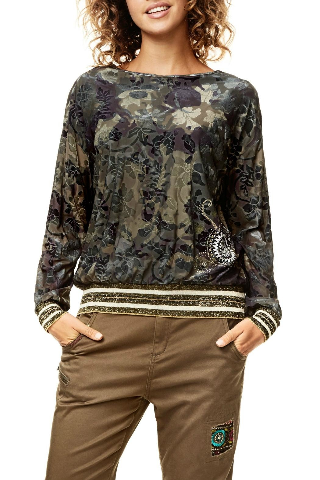 DESIGUAL Sally Shirt - Front Cropped Image