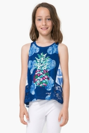 DESIGUAL Sequin Sleeveless Shirt - Front cropped