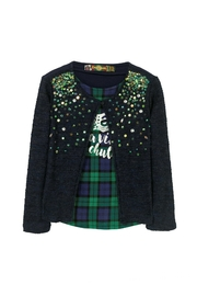 DESIGUAL Sequin Sweater - Front cropped