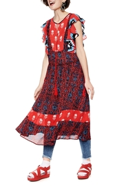 DESIGUAL Sigrid Boho Dress - Product Mini Image