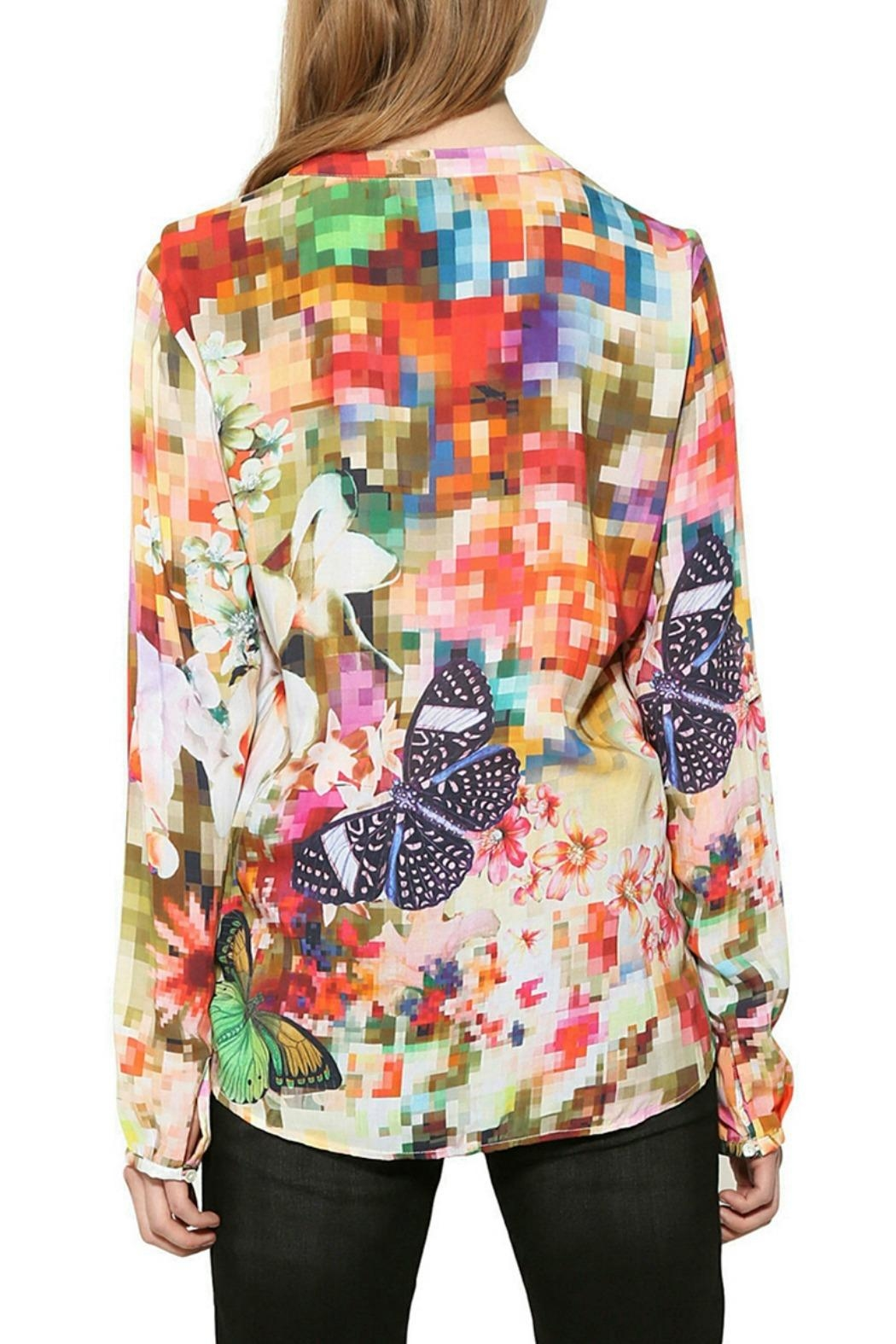 DESIGUAL Sol Blouse - Front Full Image