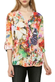 DESIGUAL Sol Blouse - Front cropped