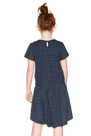 DESIGUAL Striped Butterfly Dress - Front full body