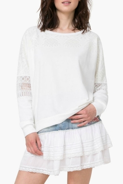 Shoptiques Product: Sweatshirt Lino Lace