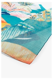 DESIGUAL Ttropical Butterfly Scarf - Back cropped