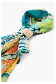 DESIGUAL Ttropical Butterfly Scarf - Other