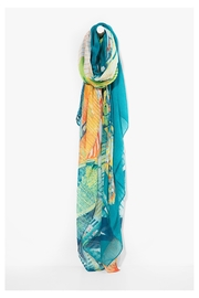 DESIGUAL Ttropical Butterfly Scarf - Front cropped