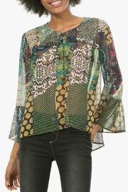 DESIGUAL Verde Blouse - Product Mini Image
