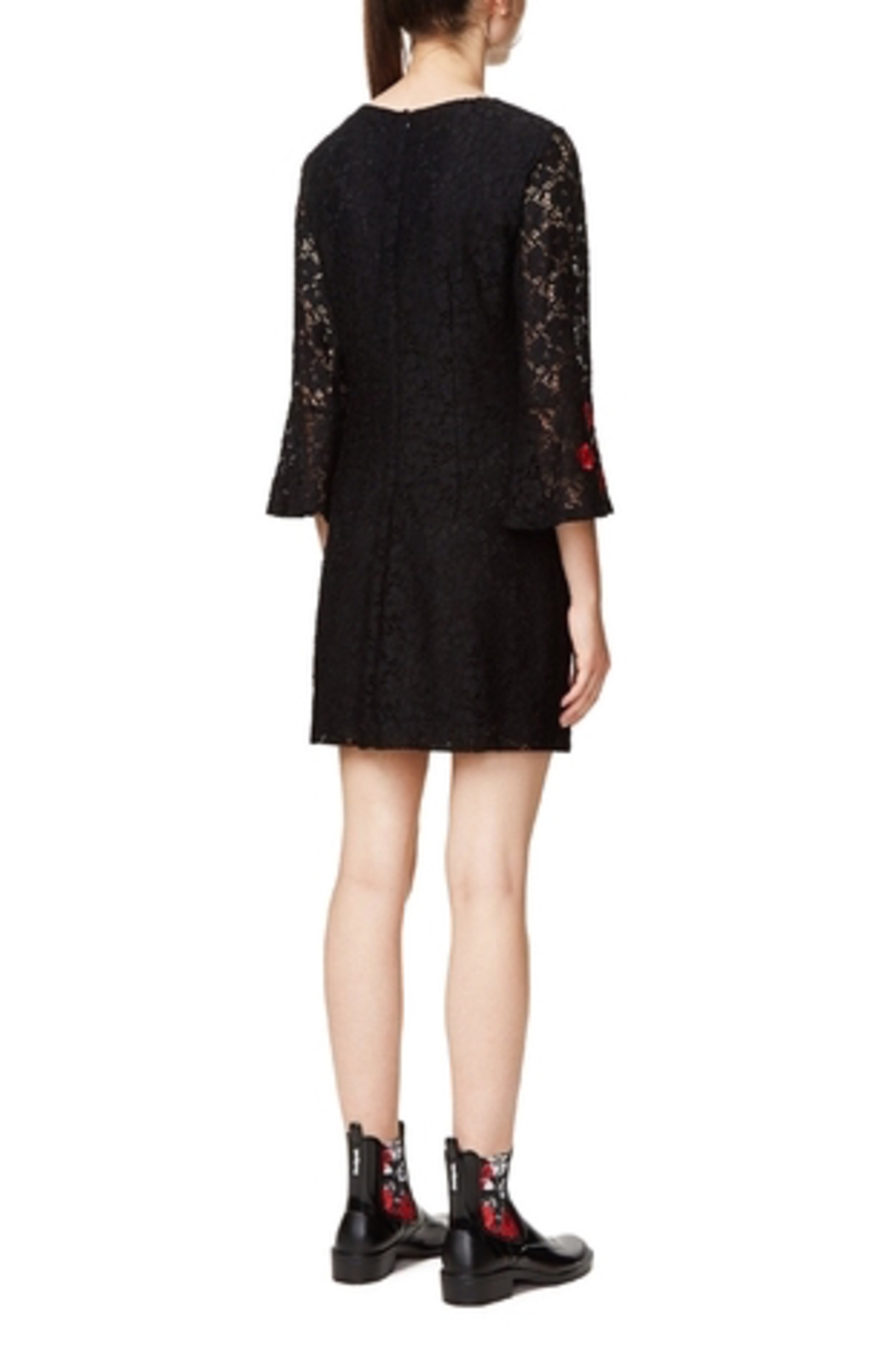 DESIGUAL Vermond Lacy Dress - Side Cropped Image