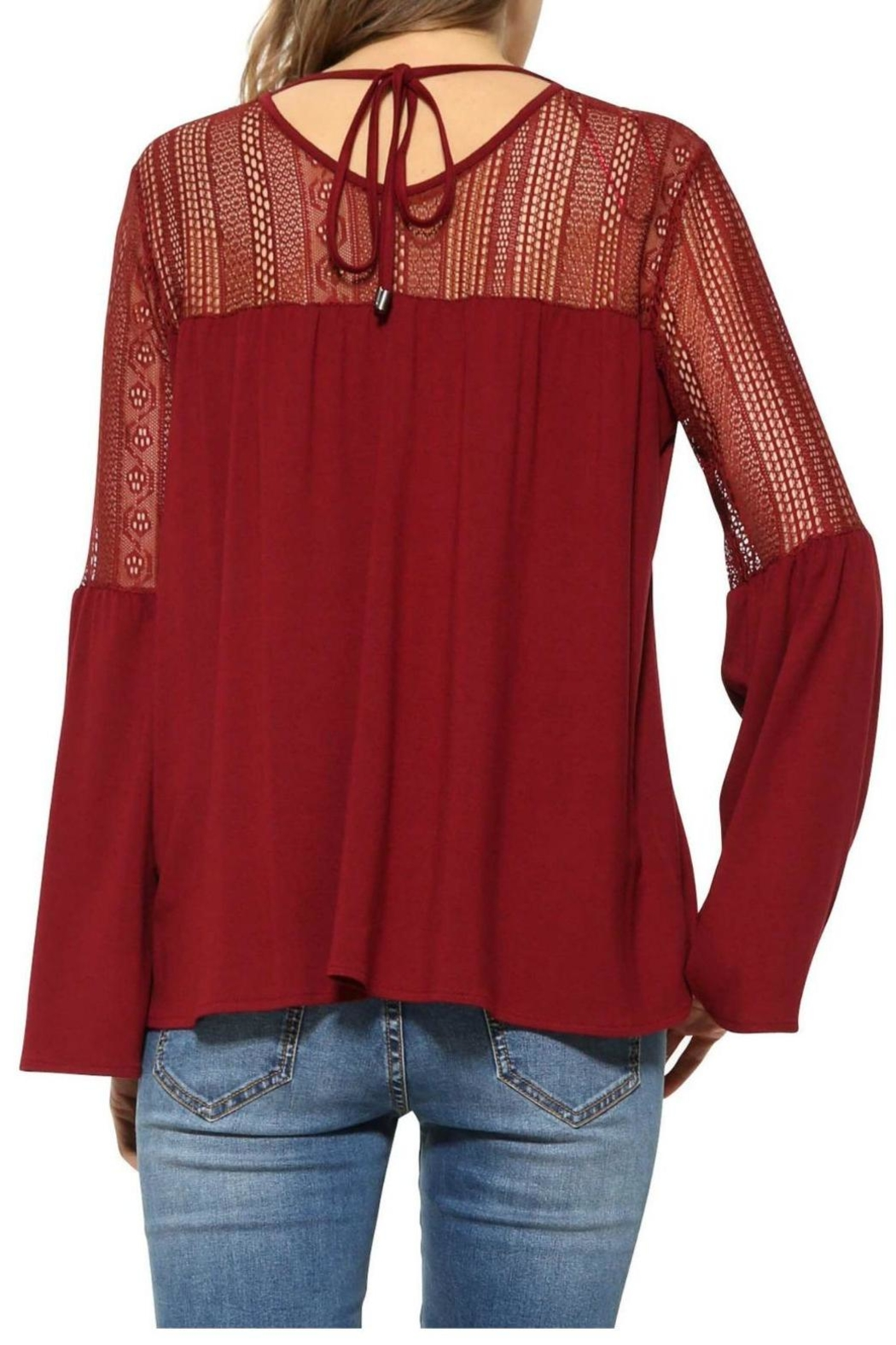 Desigual - Spain Bell Sleeve Blouse - Front Full Image