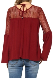 Desigual - Spain Bell Sleeve Blouse - Front full body