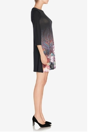 Desigual - Spain Black Floral Dress - Front full body