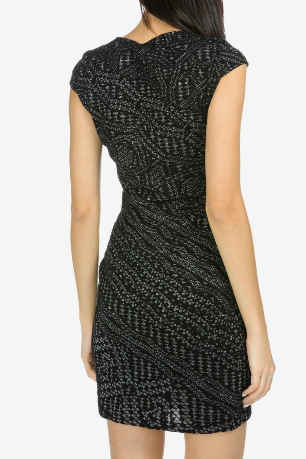 Desigual - Spain Black Knitted Dress - Side Cropped Image