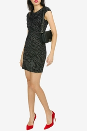 Desigual - Spain Black Knitted Dress - Front cropped