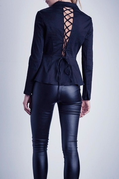 SHILLA THE LABEL Desire Lace-Up Blazer - Alternate List Image