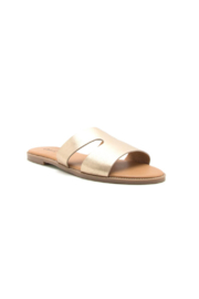 Qupid Desmond-75 Flat Sandal - Side cropped