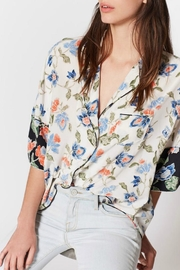 Joie Desmonda Silk Top - Back cropped