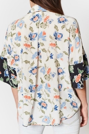 Joie Desmonda Silk Top - Front full body