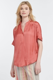 Nic + Zoe Destination Peasant Blouse - Product Mini Image