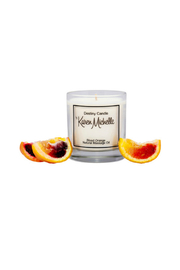 Destiny Candle by Karen Michelle Blood Orange Massage Oil Candle - Front full body