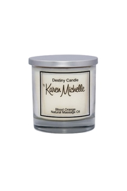 Destiny Candle by Karen Michelle Blood Orange Massage Oil Candle - Front cropped