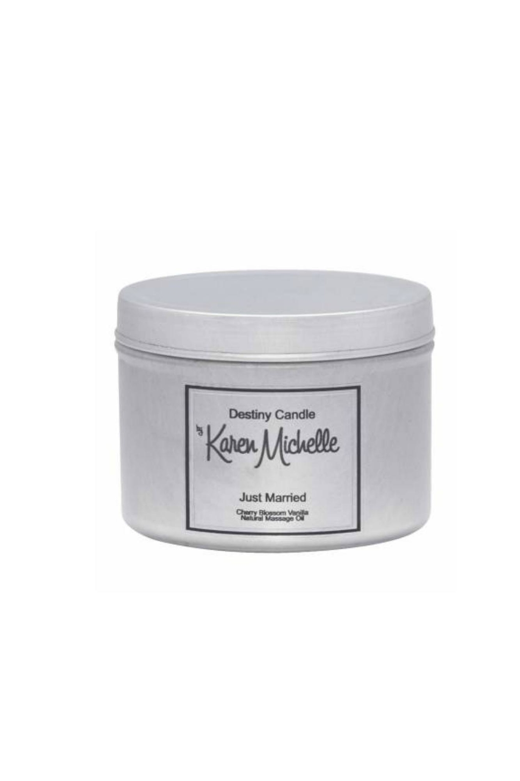 Destiny Candle by Karen Michelle Cherry Blossom Massage Oil Candle - Main Image