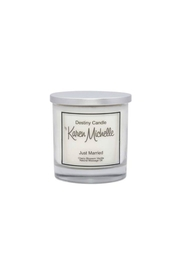 Destiny Candle by Karen Michelle Cherry Blossom Massage Oil Candle - Product Mini Image