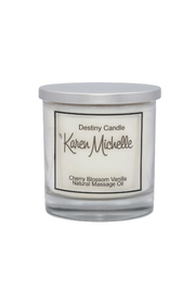 Destiny Candle by Karen Michelle Cherry Blossom Oil Candle - Product Mini Image