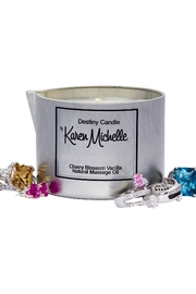 Destiny Candle by Karen Michelle Cherry Blossom Vanilla - Side cropped