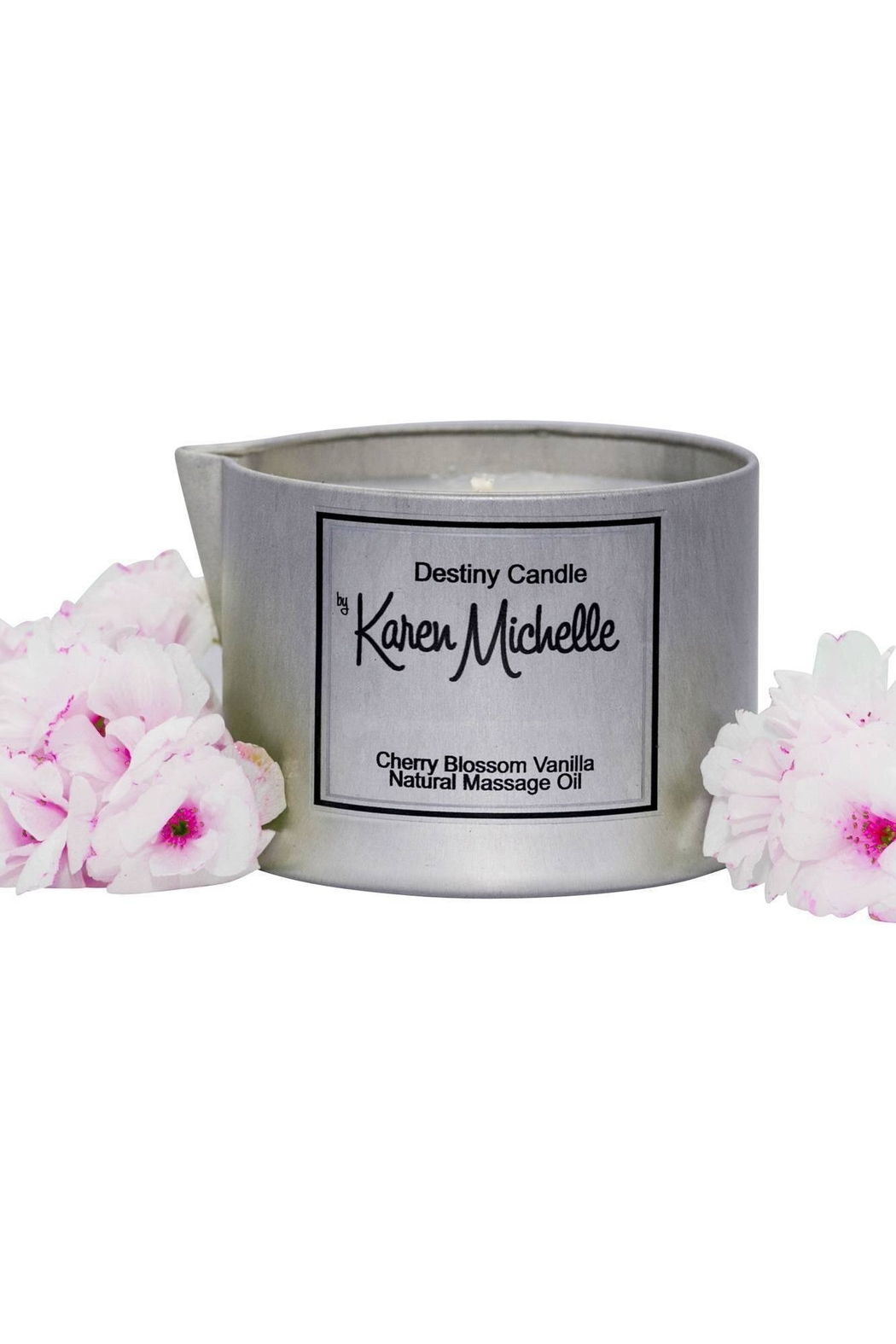 Destiny Candle by Karen Michelle Cherry Blossom Vanilla - Main Image