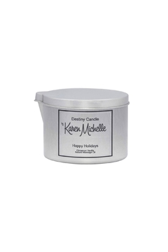Destiny Candle by Karen Michelle Cinnamon Vanilla Oil Candle - Product List Image