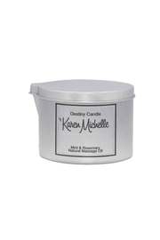 Destiny Candle by Karen Michelle Cinnamon & Vanilla Oil Candle - Product Mini Image