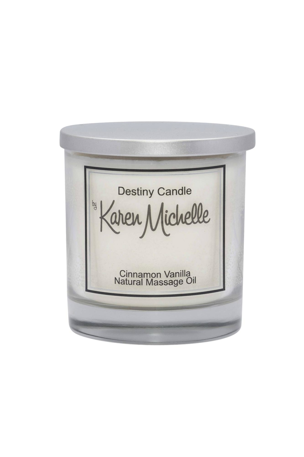 Destiny Candle by Karen Michelle Cinnamon Vanilla Oil Candle - Main Image