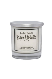 Destiny Candle by Karen Michelle Cinnamon Vanilla Oil Candle - Product Mini Image