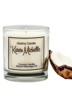 Destiny Candle by Karen Michelle Coconut Vanilla - Product List Image