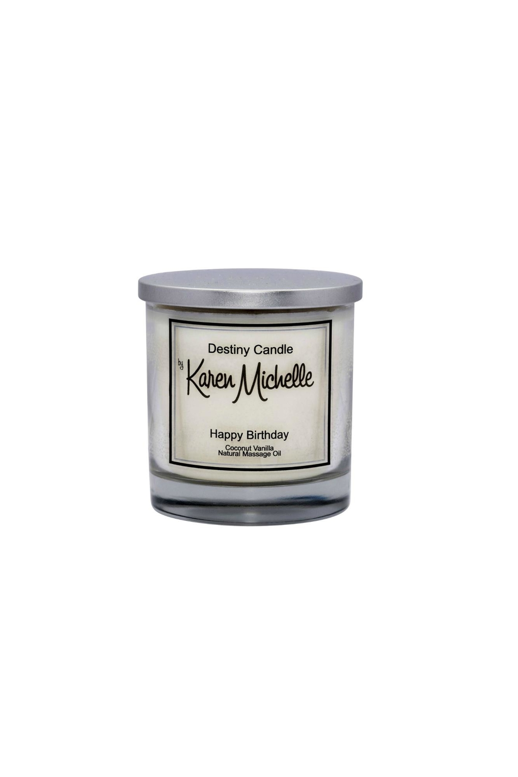 Destiny Candle by Karen Michelle Coconut Vanilla Massage Oil Candle - Main Image