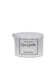 Destiny Candle by Karen Michelle Coconut Vanilla Massage Oil Candle - Front cropped