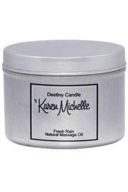 Destiny Candle by Karen Michelle Fresh Rain Oil Candle - Product Mini Image
