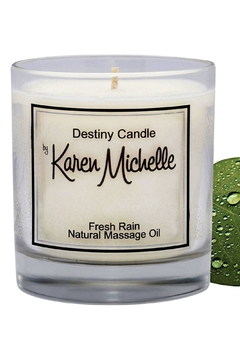 Destiny Candle by Karen Michelle Fresh Rain - Product List Image
