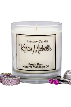 Destiny Candle by Karen Michelle Fresh Rain - Alternate List Image