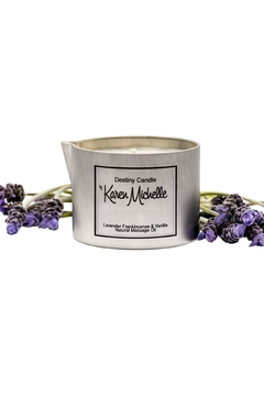Destiny Candle by Karen Michelle Lavender And Frankincense - Product List Image