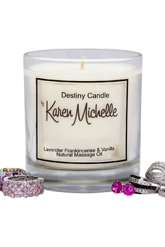 Destiny Candle by Karen Michelle Lavender And Frankincense - Alternate List Image