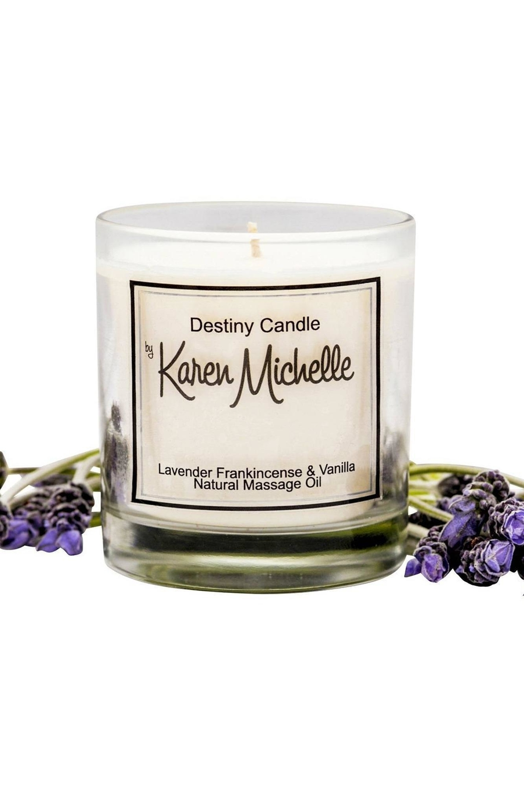 Destiny Candle by Karen Michelle Lavender And Frankincense - Main Image